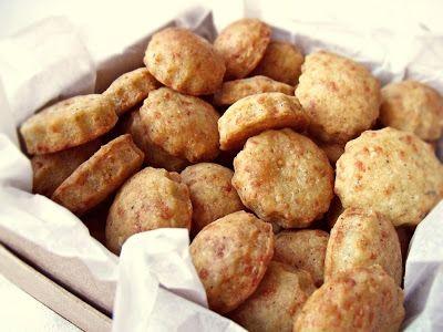 Citromhab: Sajtos, fűszeres keksz