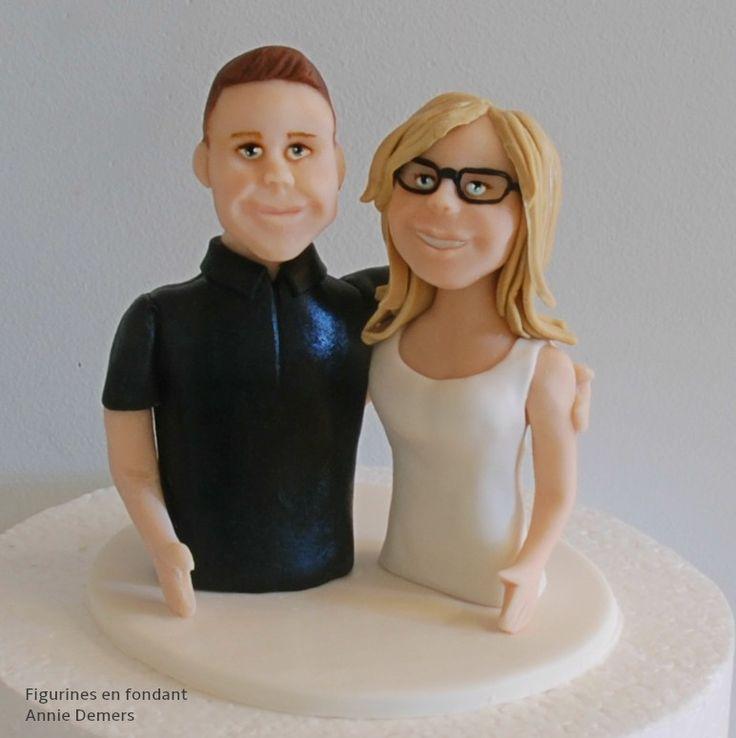 cake topper mariage personnalisé  https://www.facebook.com/figurinesanniedemers