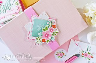 Just For You Stationery Set Box by Betsy Veldman for Papertrey Ink (April 2016)