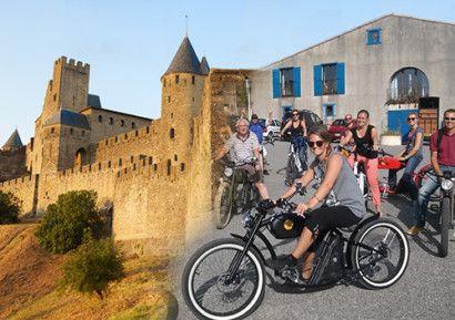 Découverte des plus beaux paysages Cathares à bord d'un vélo électrique. https://goo.gl/qcNYV3
