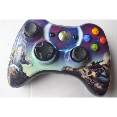 Control Inalambrico Xbox 360 Edición Halo