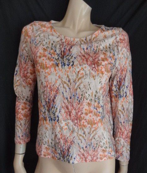 0c9aa8215b865 (373DEC) Size 14 LAURA ASHLEY Chic pink print jersey top ladies womens   fashion  clothing  shoes  accessories  womensclothing  tops (ebay link)