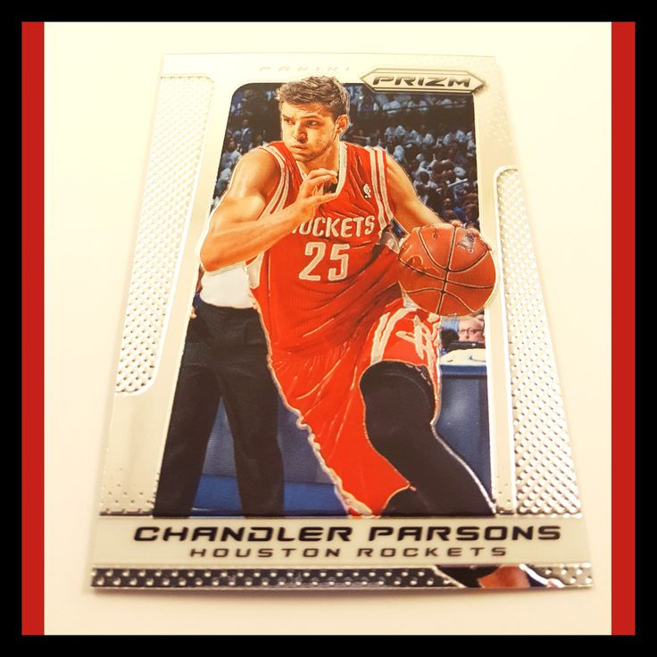 Chandler Parsons Basketball Card (2013-14 Prizm)
