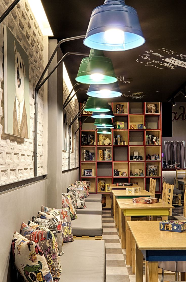 Image 14 of 17 from gallery of Alaloum Board Game Café / Triopton Architects. Photograph by Dimitris Kleanthis