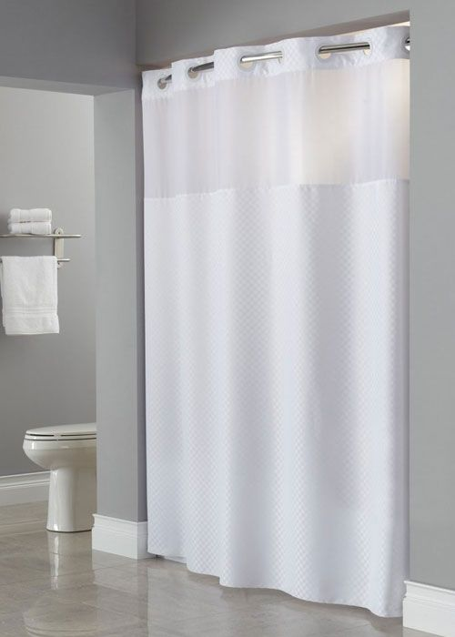 The 25+ best Hookless shower curtain ideas on Pinterest | Bathroom ...