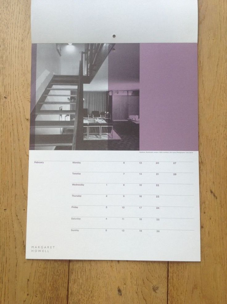 """Span Housing"" Calendar 2006 Produced By Margaret Howell in 