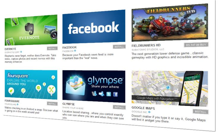 Top Free #Android Apps
