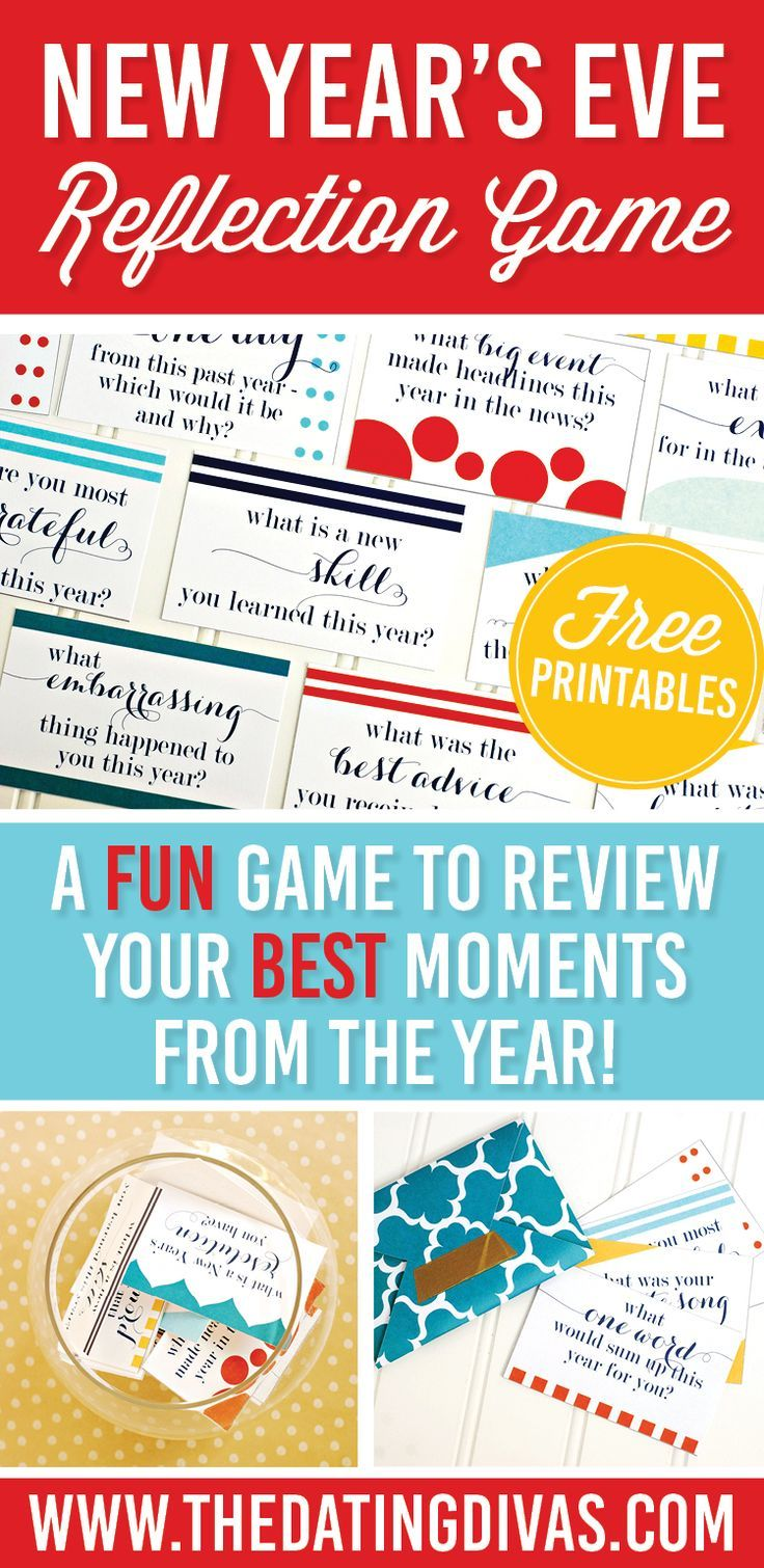 New Years Eve Game and Date Night Idea from The Dating Divas
