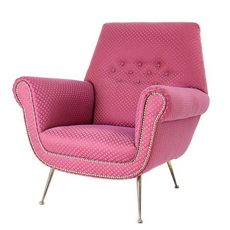 Lounge Chair by Minotti Radice, circa 1970.