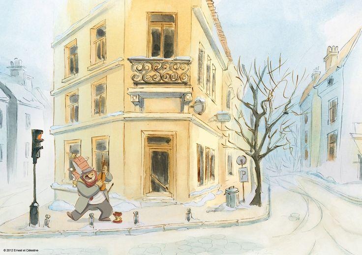:: CATSUKA :: News - Ernest et Célestine : nouvelles images et chanson (le film d'animation que j'attends le plus cette année)