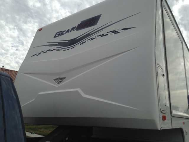 2008 Used Fleetwood Gearbox 395FS3G Toy Hauler in California CA.Recreational Vehicle, rv, 2008 Fleetwood Gearbox 395FS3G, 2008 40' Gear Box in excellent condition. Upgraded LVT plank flooring, New Tires, New Mattres, Upgraded lighting to all LED, Upgraded Battery's to 6 volt including and small solar panel, TVs shown included, Stereo system included, Satellite Dish installed, Awning covers, RVBQ equipped, 6 beds, 2 electric beds in garage, Loft, Sofabed, Dinnet Master Bedroom. 2 AC's, 3…