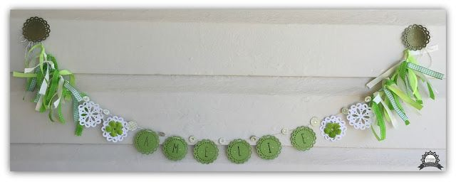 Couture Creations: Petitie Doily Banner by Tracey Rohweder