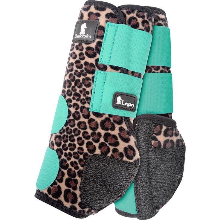 Classic Equine Legacy System Front Cheetah Print Splint ...