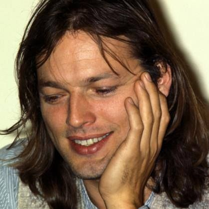 English musician and Pink Floyd guitarist David Gilmour in a promotional photo for his self-titled solo album, United Kingdom, 1978, photographer unknown.