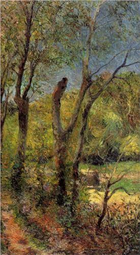 Willows   Paul Gaugin   1885