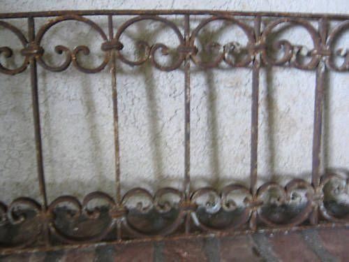 Architectural Wrought Iron Antique Decorative Salvage Ebay Interiornewelpostcaps Newel Post Caps Antiques Iron Railing