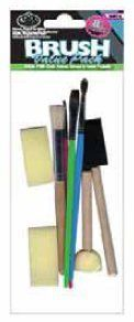 Royal 8 Piece Arts  Craft Painting Brush Value Pack  Rart8  12 Pack ** More info could be found at the image url.