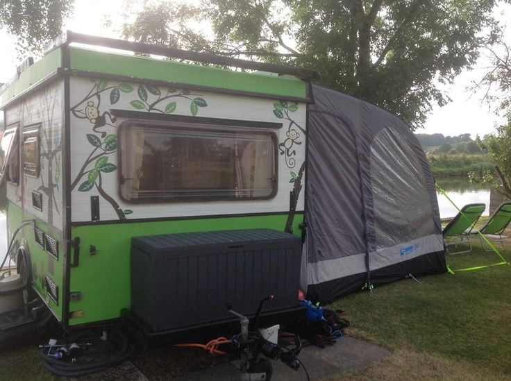 Esterel Folding Caravan With Custom Paint Job Esterel