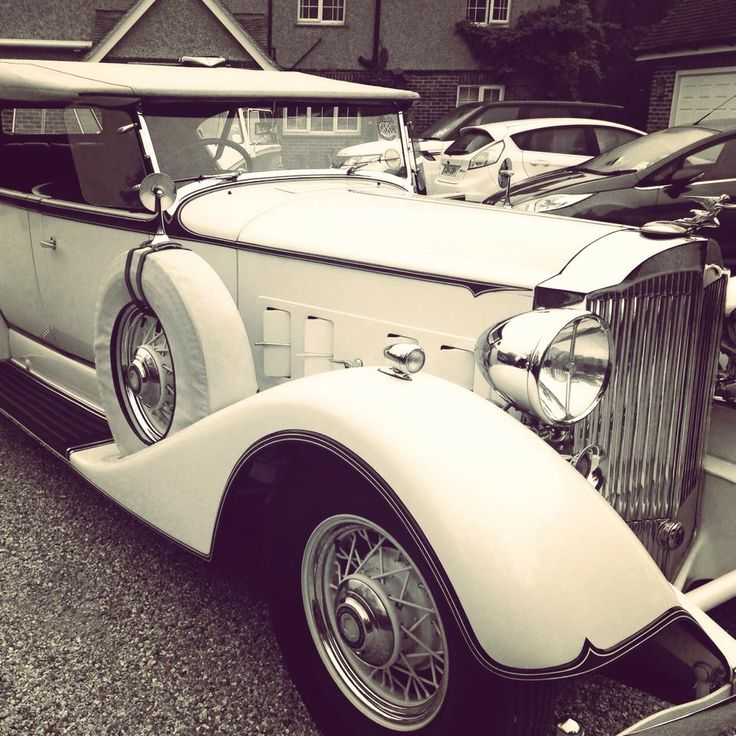 Packard, Vintage, Old Car, Beauty
