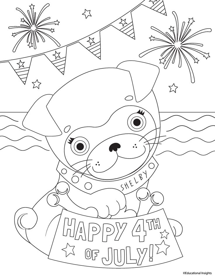 35 best images about nifty coloring pages on pinterest for Firecracker coloring page