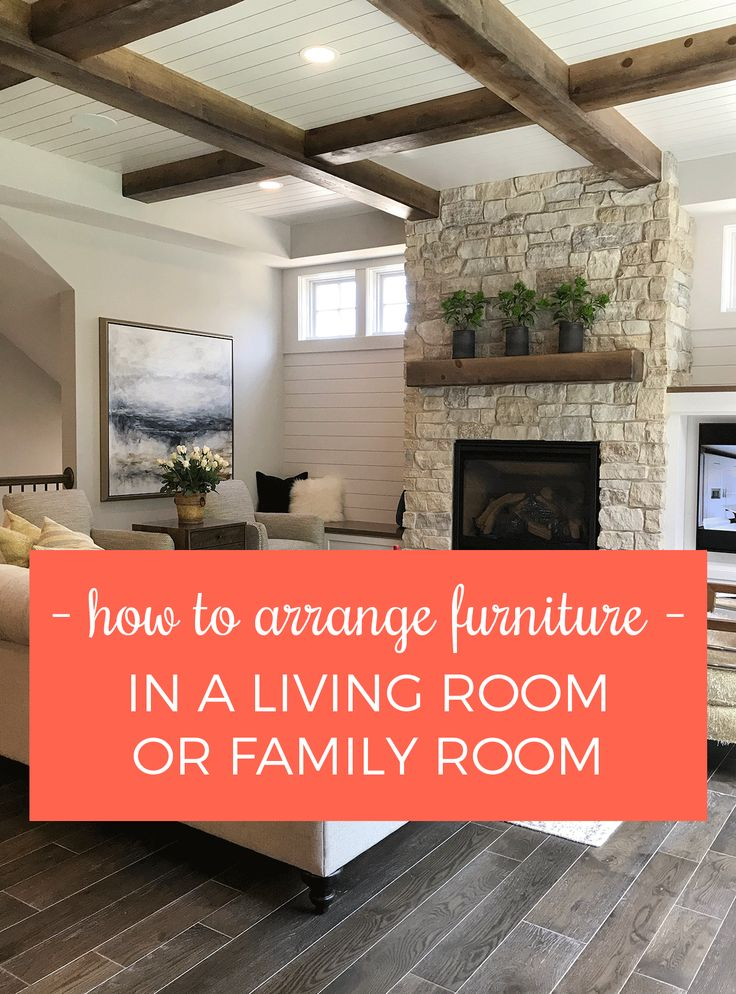 Arranging furniture - simple and practical tips, advice, and inspiration to make furniture arranging easy!