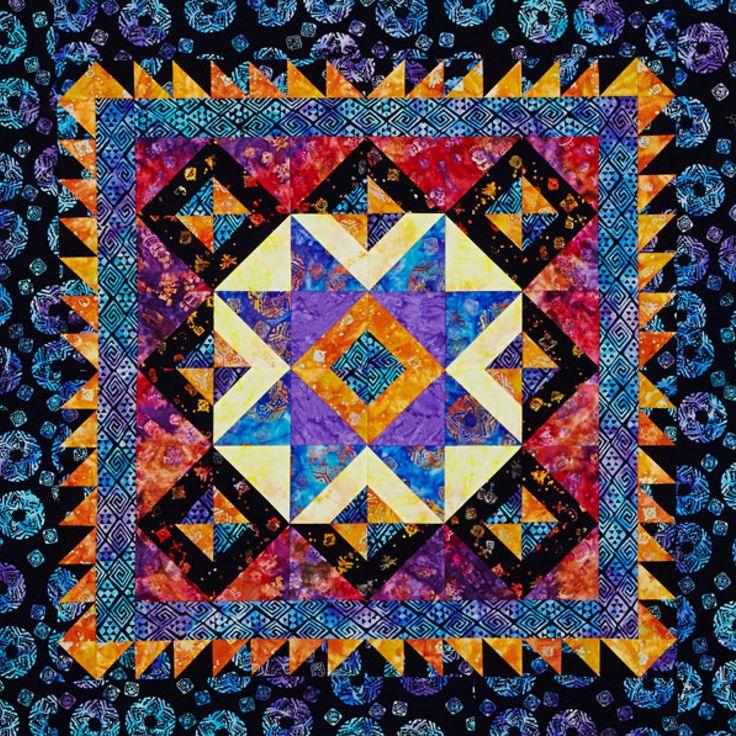 17 Best Images About Beautiful Batiks On Pinterest Quilt