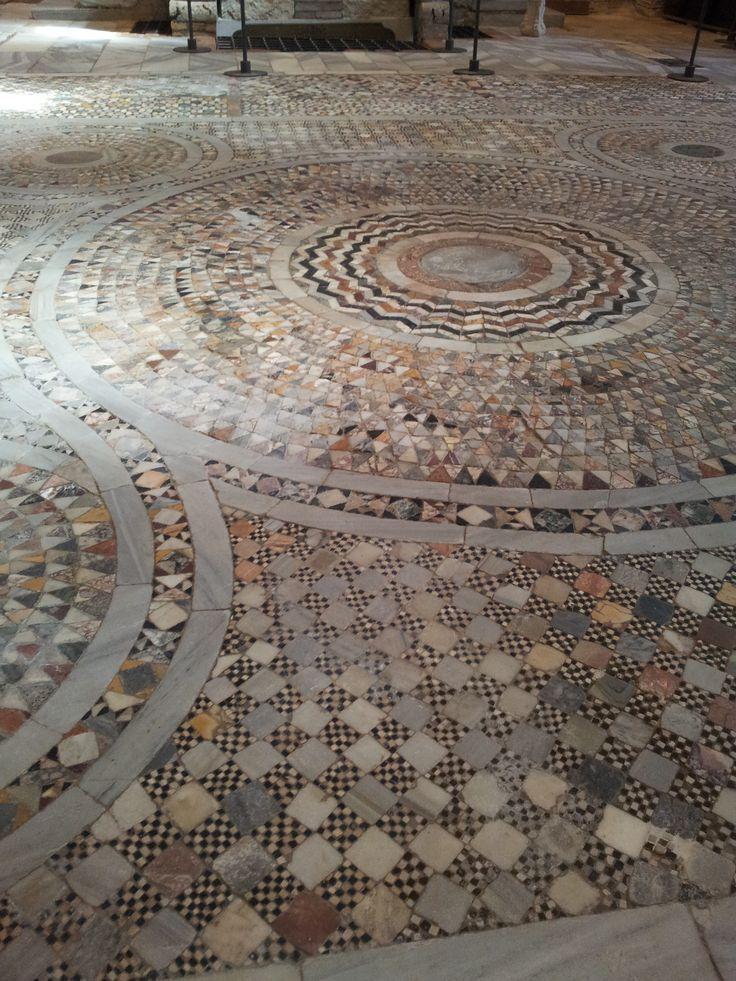 Torcello, Venice - floor tiles