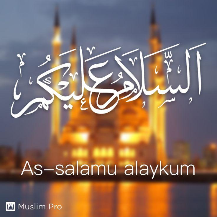 As-salamu alaykum #muslimpro http://www.muslimpro.com/dl