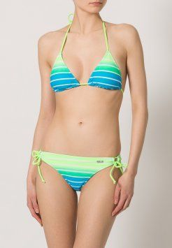Venice Beach - Bikini - turquoise striped