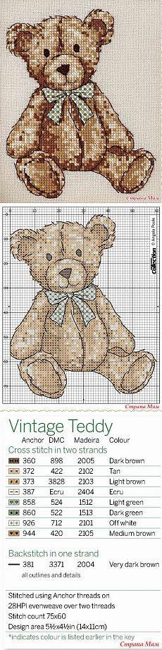 """Пинкип """"Vintage Teddy"""" - Бискорню и другие """"кривульки"""" - Страна Мам"""