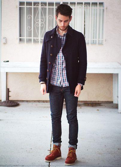 Oliver Spencer Coat, Kasil Jeans, Wolverine Boots