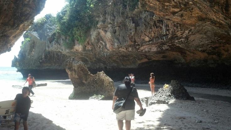 Finally!! - Bluepoint Beach Uluwatu, Bali.