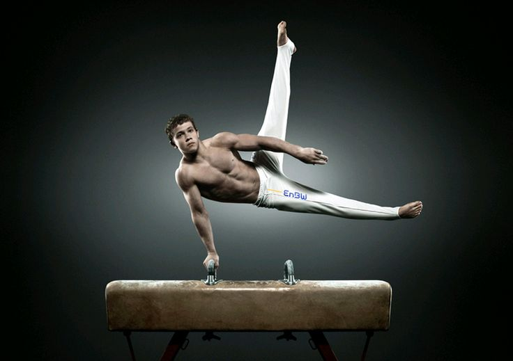 I have so much respect for male gymnasts. I even think male gymnastics is harder than female gymnastics.