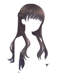 Resultado de imagen para kawaii draw red long hair bow