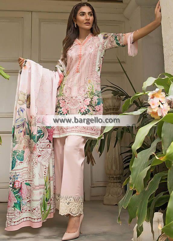 a955d0817b Summer Collection Cambric Fabric Summer Collection Cambric Fabric Firdous  Tropical Premium Vol II 2018 Women > Dresses > Lawn Dresses > Top: A basic  long ...