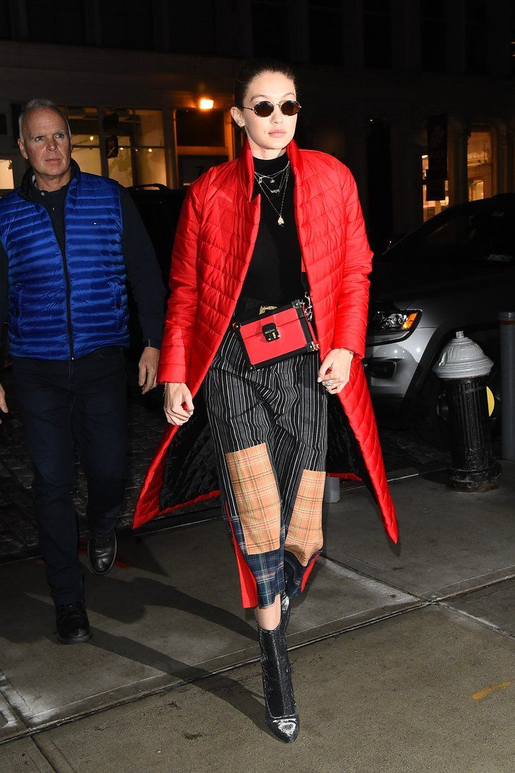 Gigi Hadid's Crazy Pants Are For the Brave and the Bold