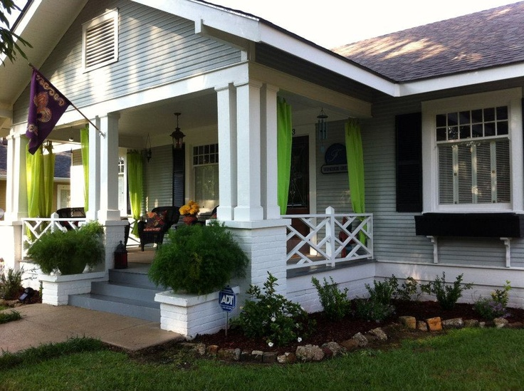 Picture From Jason Alishas Laurel Mississippi Craftsman House Exterior Porch And Landscape Rose HouseCalifornia BungalowPorch