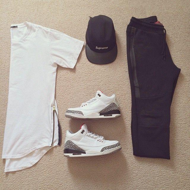 WEBSTA @ a_cobian - Plain and simple.- #nikesportswear Tech fleece- #Ziptee…