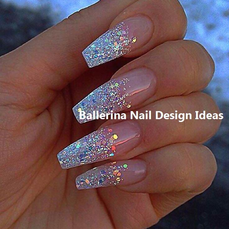 Trendy Ballerina Nail Art 2019 Nailideas Unicorn Nails Designs Coffin Nails Designs Wedding Nails Design