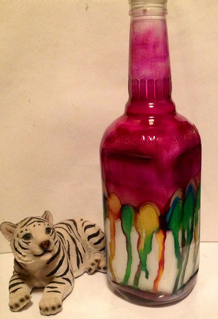 My handmade Decor' Bottles. Elly Baba's Treasures like me on FB