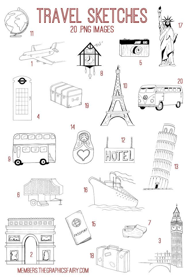 Emily and I have added another Fabulous Bundle to our site The Graphics Fairy Premium Membership!! This week's Bundle is a Hand Drawn Travel Kit! This Bundle includes: 20 high resolution images (.png) 1 set of Photoshop brushes (.abr) 20 vector files (.ai, .eps, .svg) 6 printables (2 journal covers, 2 luggag tag sets, 2 mason jar...Read More »