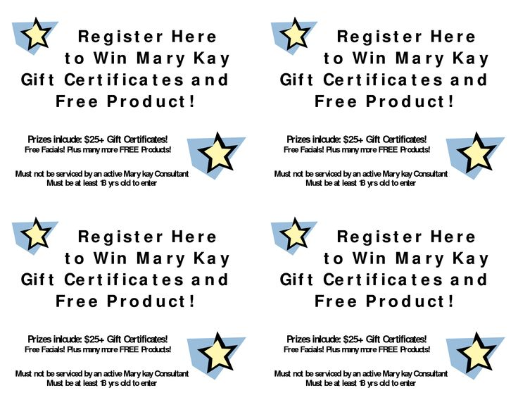 Kay Birthday Certificates | Mary Kay Gift Certificate Template Free ...