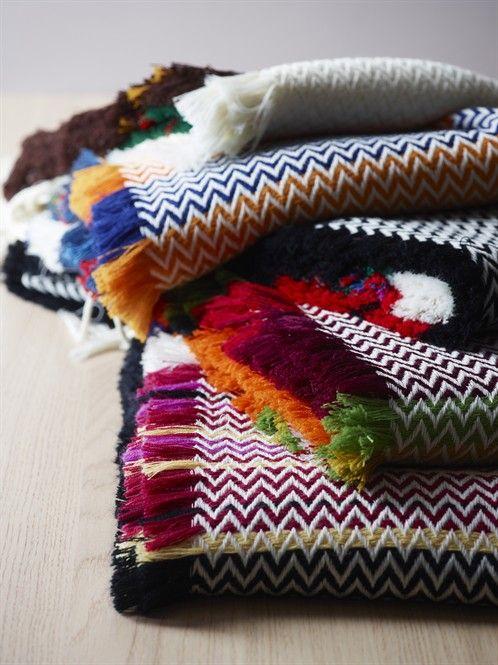 Mandal Bunad blankets.  Design: Andreas Engesvik, Oslo