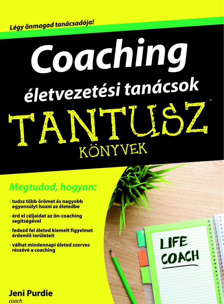 Coaching életvezetési tanácsok könyv