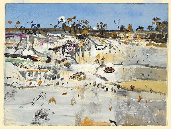 Fred WILLIAMS, (Sand quarry, Emita IV, Flinders Island)