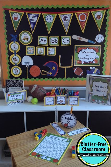 Classroom Decor On A Budget : Best images about sports classroom theme on pinterest