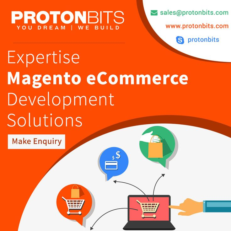 ProtonBits A Best Magento eCommerce Development Company based in India & USA provides you to build your magento ecommerce store to gain your business over web world. Contact us today. To know more about our development, please visit our website: http://www.protonbits.com