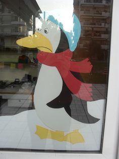 ...Το Νηπιαγωγείο μ' αρέσει πιο πολύ.: Τα πατρόν για τα χειμωνιάτικα και χρισστουγεννιάτικα παράθυρα