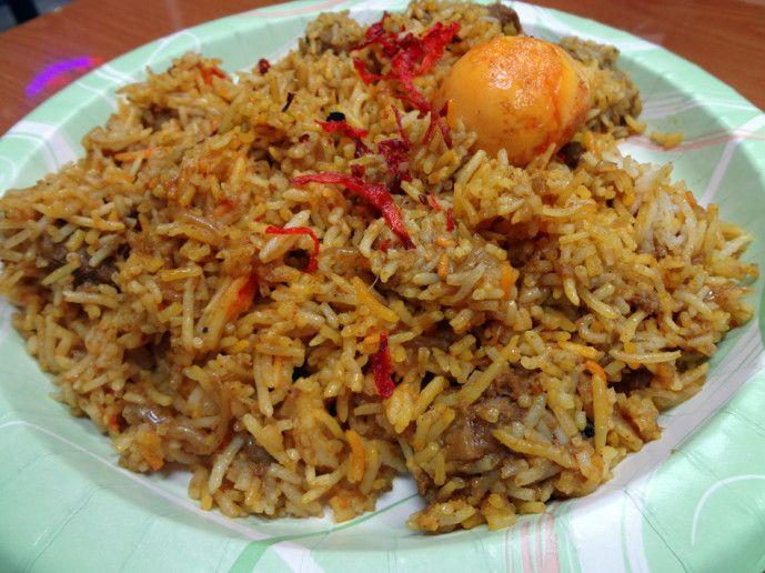 Al amin halal restaurant goat biryani atlanta food for Amin indian cuisine