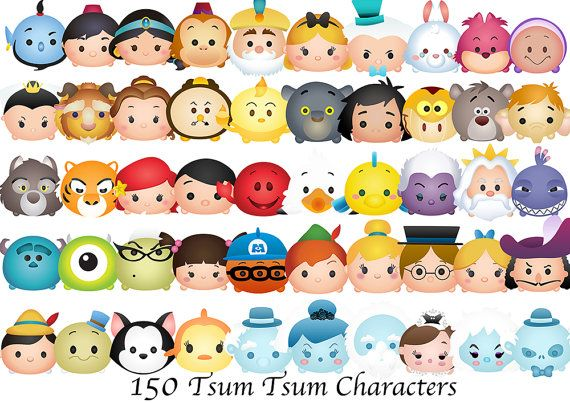 Disney Tsum Tsum Clipart 9: Best 10+ Tsum Tsum Characters Ideas On Pinterest
